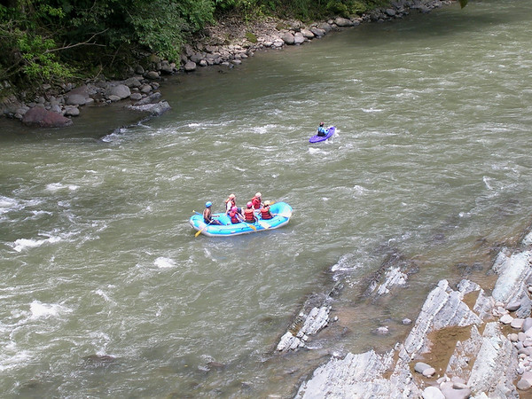 Costa Rica,  Pacuaro River Rafting_Apr 2006
